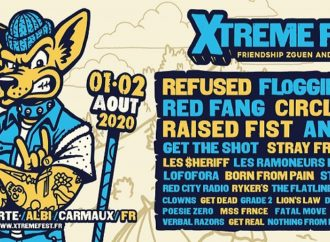 XTreme Fest : running order 31 juillet au 2 août