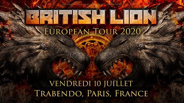 British Lion au Trabendo le 10 Juillet 2020