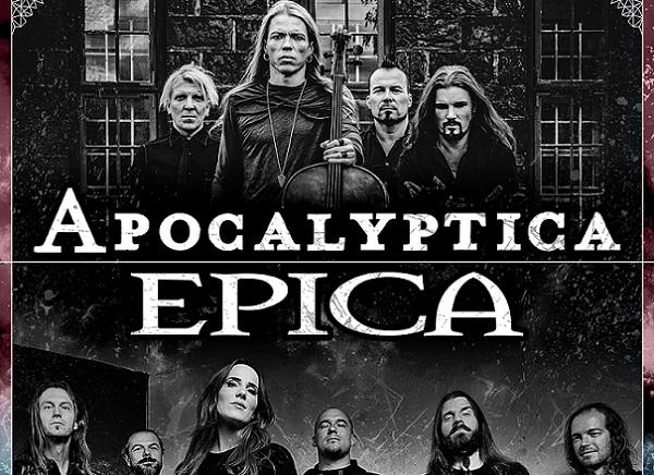 APOCALYPTICA en tournée avec EPICA fin 2020