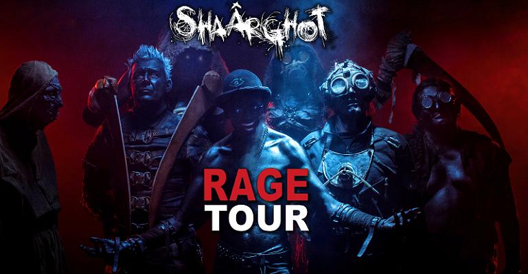 Shaârghot rentre chez Rage Tour