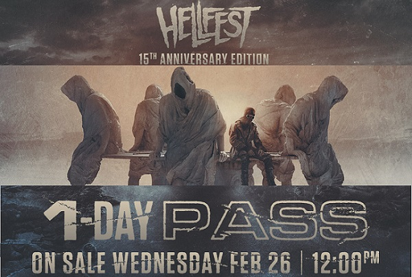 HELLFEST: vente des pass 1 jour le 26 février.