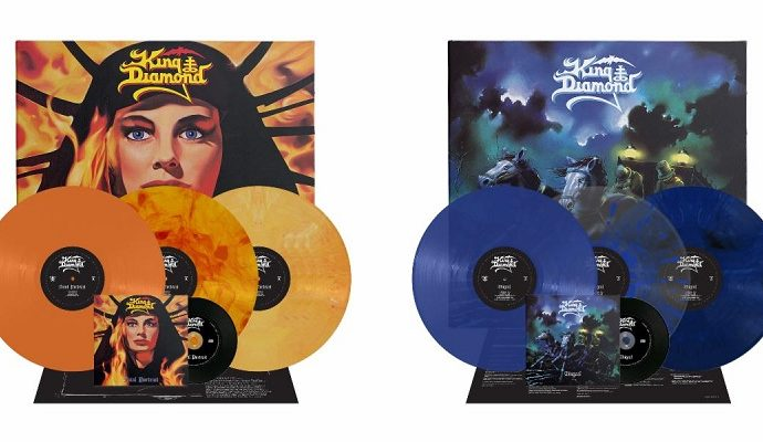 King Diamond: rééditions de 'AbigaiI' et 'Fatal Portrait'