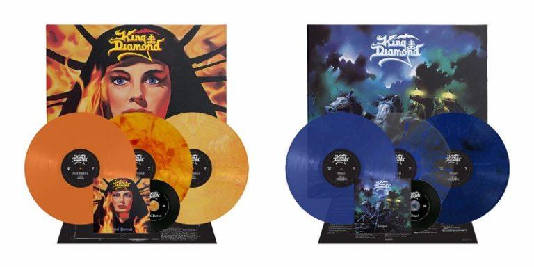 King Diamond: rééditions de 'AbigaiI' et 'Fatal Portrait'