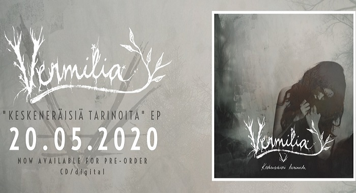 Vermilia : 'Taivas Hiljaa Huutaa' en écoute