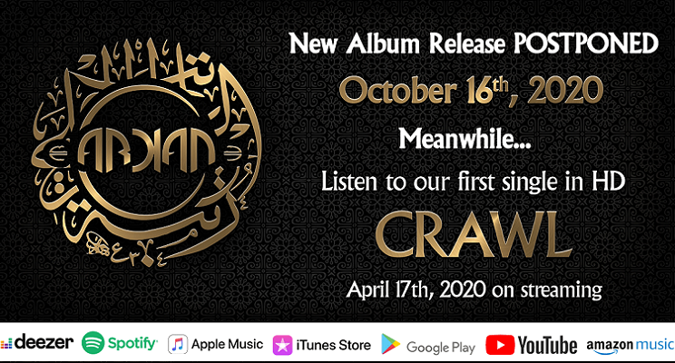 ARKAN :  «Crawl» sort en HD aujourd'hui