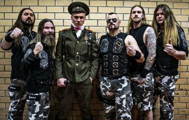 SABATON : Nouvelle vidéo live (in Moscow)
