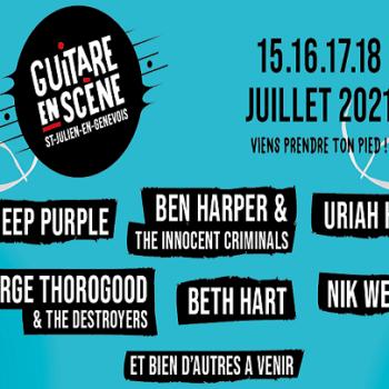 Festival Guitare en Scène: 15 au 18 juillet 2021
