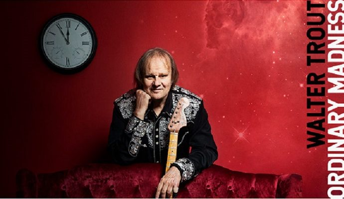 WALTER TROUT : Lyric Vidéo  « Wanna Dance »