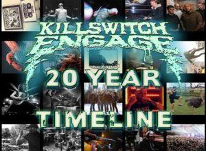 Killswitch Engage fête 20 ans de carrière