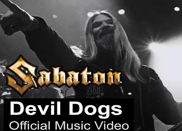 SABATON : Nouvelle vidéo de  'Devil Dogs'