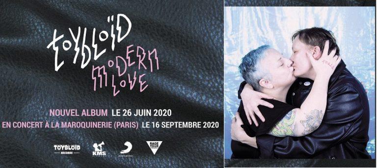TOYBLOID : «Modern Love» est sorti ce 26 juin