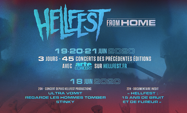 «Hellfest From Home» du 18 au 21 juin 2020
