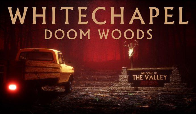 """WHITECHAPEL: Nouvelle vidéo """"Doom Woods"""""""