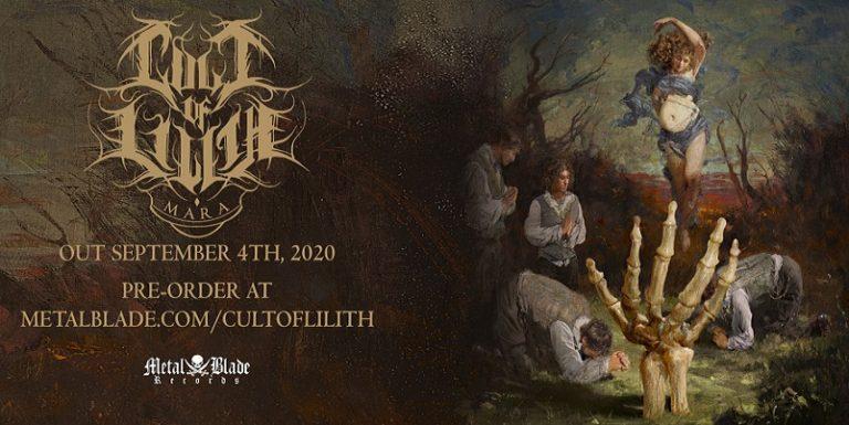 CULT OF LILITH : Nouvel album le 4 septembre