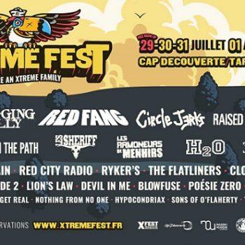 Xtreme Fest #8 : 29 juillet au 1er août 2021
