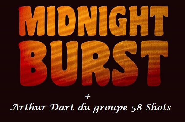 MIDNIGHT BURST & Arthur Dart : Led Zeppelin cover