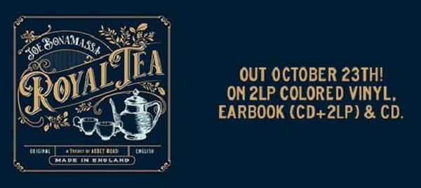 Joe BONAMASSA nouvel album Royal Tea en octobre