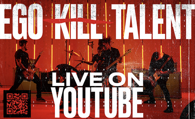 EGO KILL TALENT à voir sur YouTube samedi 25 juillet