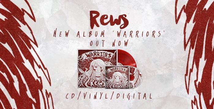 REWS sort son nouvel album Warriors