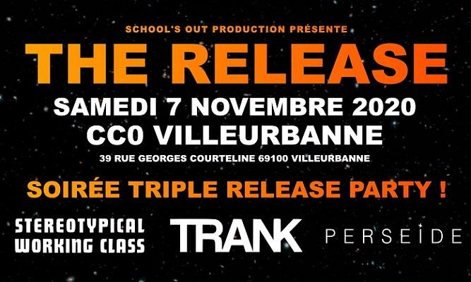 TRANK : Release party & concert le 7 novembre 2020