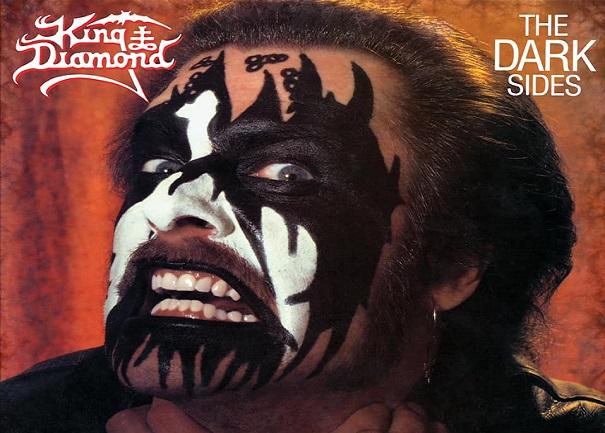 """KING DIAMOND : ré-édition de """"The Dark Sides"""""""