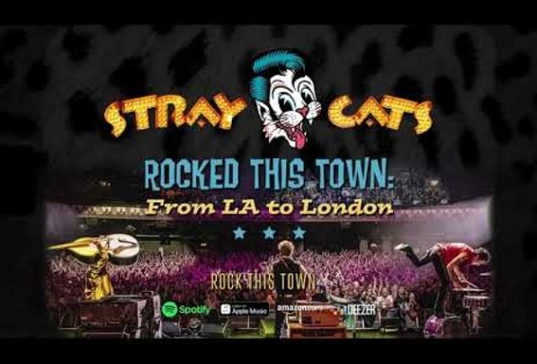 "STRAY CATS : Vidéo de ""Three Time's A Charm"""