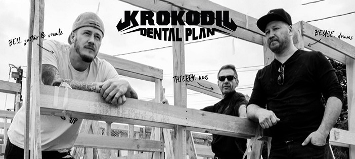 """Krokodil Dental Plan : 2ème EP """"Feed My Krokodil"""""""