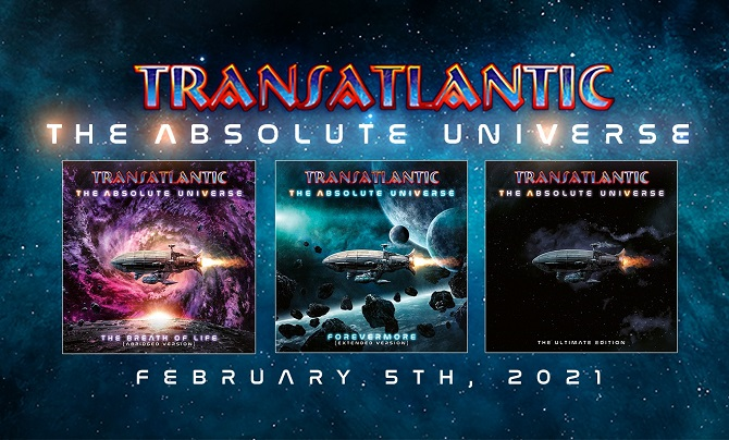 TRANSATLANTIC : THE ABSOLUTE UNIVERSE