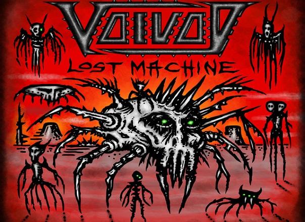 VOIVOD : Lost Machine est dans les bacs