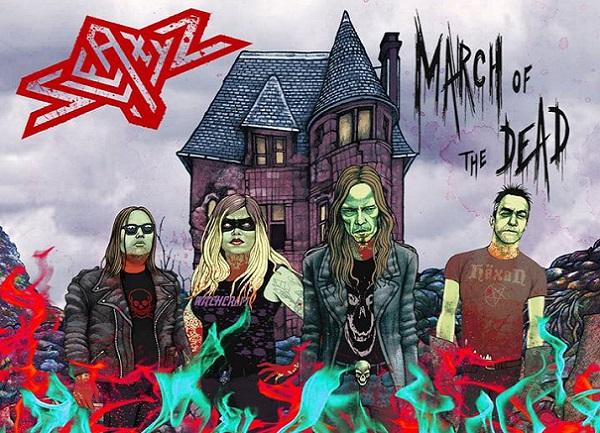 """CHRONIQUE : """"March of the Dead"""" de SLEAZYZ"""