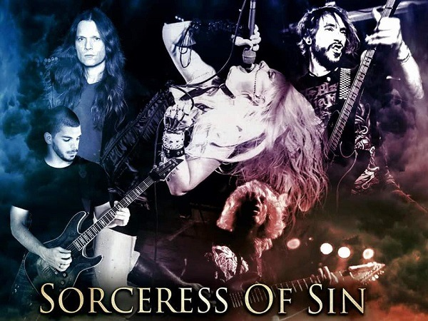 SORCERESS OF SIN: lyric vidéo 'Empyre of Stones'