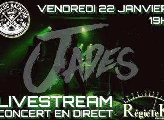 JADES en concert enregistré et diffusé en live