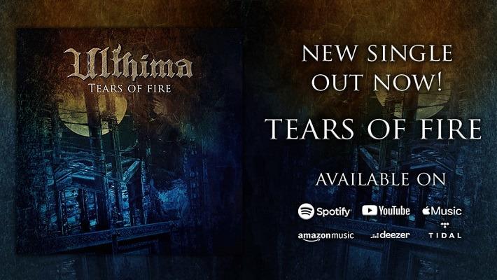 Ulthima : second single Tears of Fire