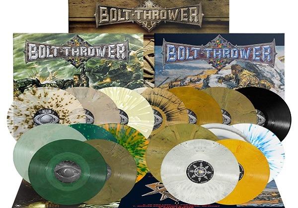 BOLT THROWER : Rééditions de 3 albums