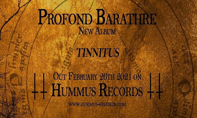 Profond Barathre :Tinnitus est en écoute intégrale