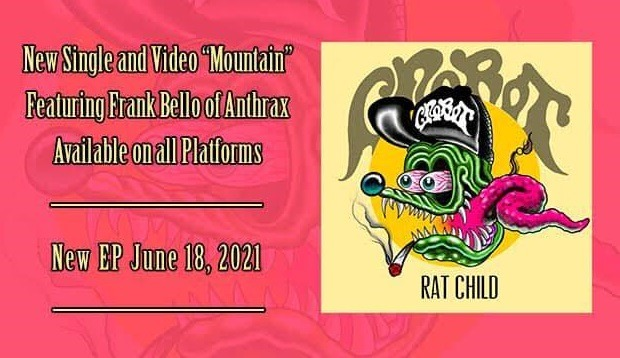 "CROBOT : Vidéo ""Mountain"" featuring Frank Bello"