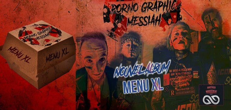 "PORNO GRAPHIC MESSIAH :  ""Menu XL"""