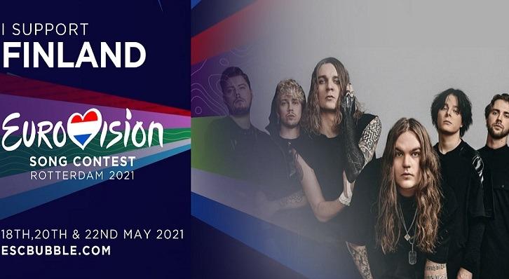 """BLIND CHANNEL : En finale de l'Eurovision avec le titre """"Dark Side"""""""
