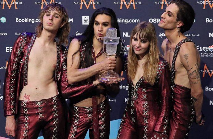 Eurovision: Le rock à l'honneur avec Måneskin et Blind Channel