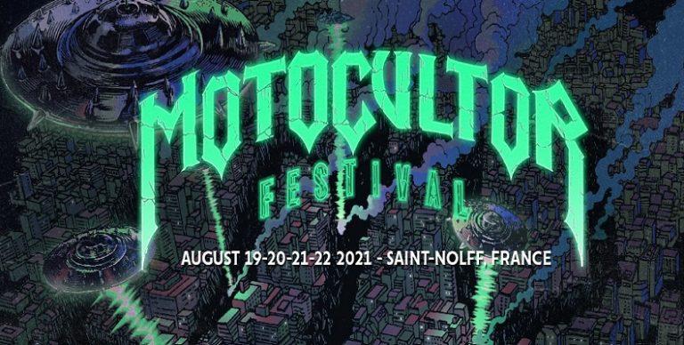 """Motocultor Festival : soirées concert """"debout"""" du 19 au 22 Août 2021"""