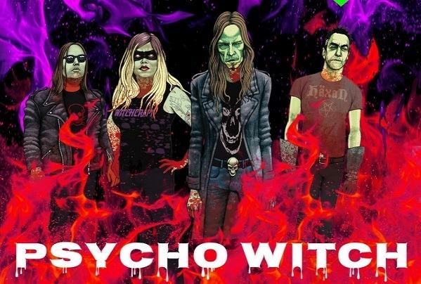 """SLEAZYZ : Nouvelle vidéo de """"Psycho Witch"""""""