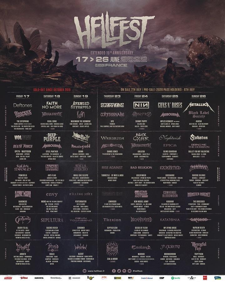 Judas Priest au Hellfest