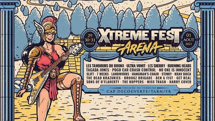 Xtreme Fest a bien lieu du 29 juillet au 01 août 2021