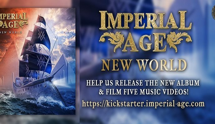 """IMPERIAL AGE : Nouvel album """"New World"""""""