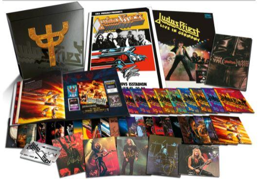 Judas Priest coffret 42 CD