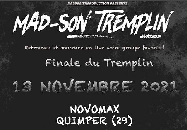MAD-SON TREMPLIN : Finale le 13 novembre 2021