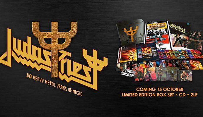 Judas Priest : coffret de 42 CD pour ses 50 ans
