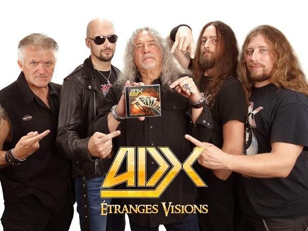 """ADX : Extraits du nouvel album """"Etranges Visions"""""""